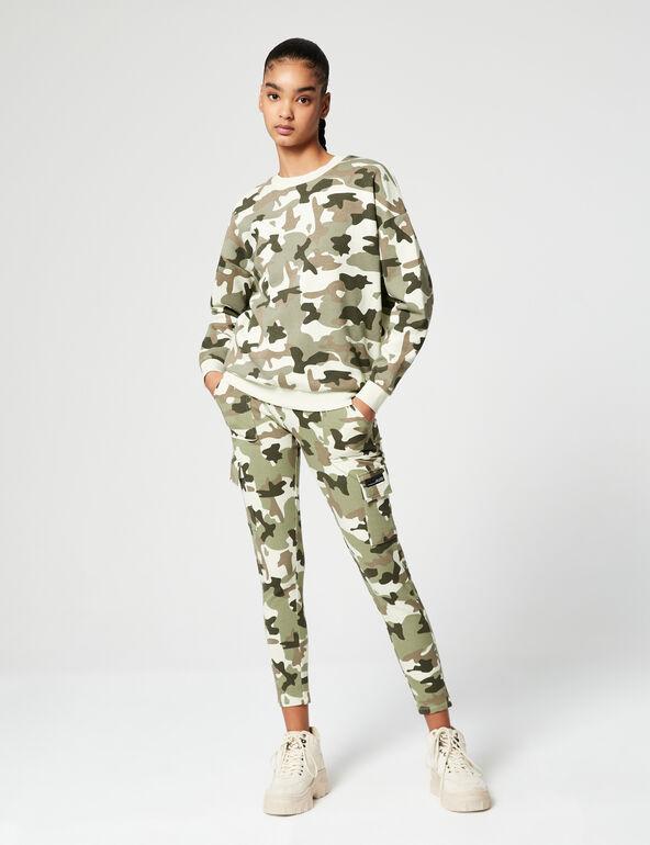 Sweat basic camouflage