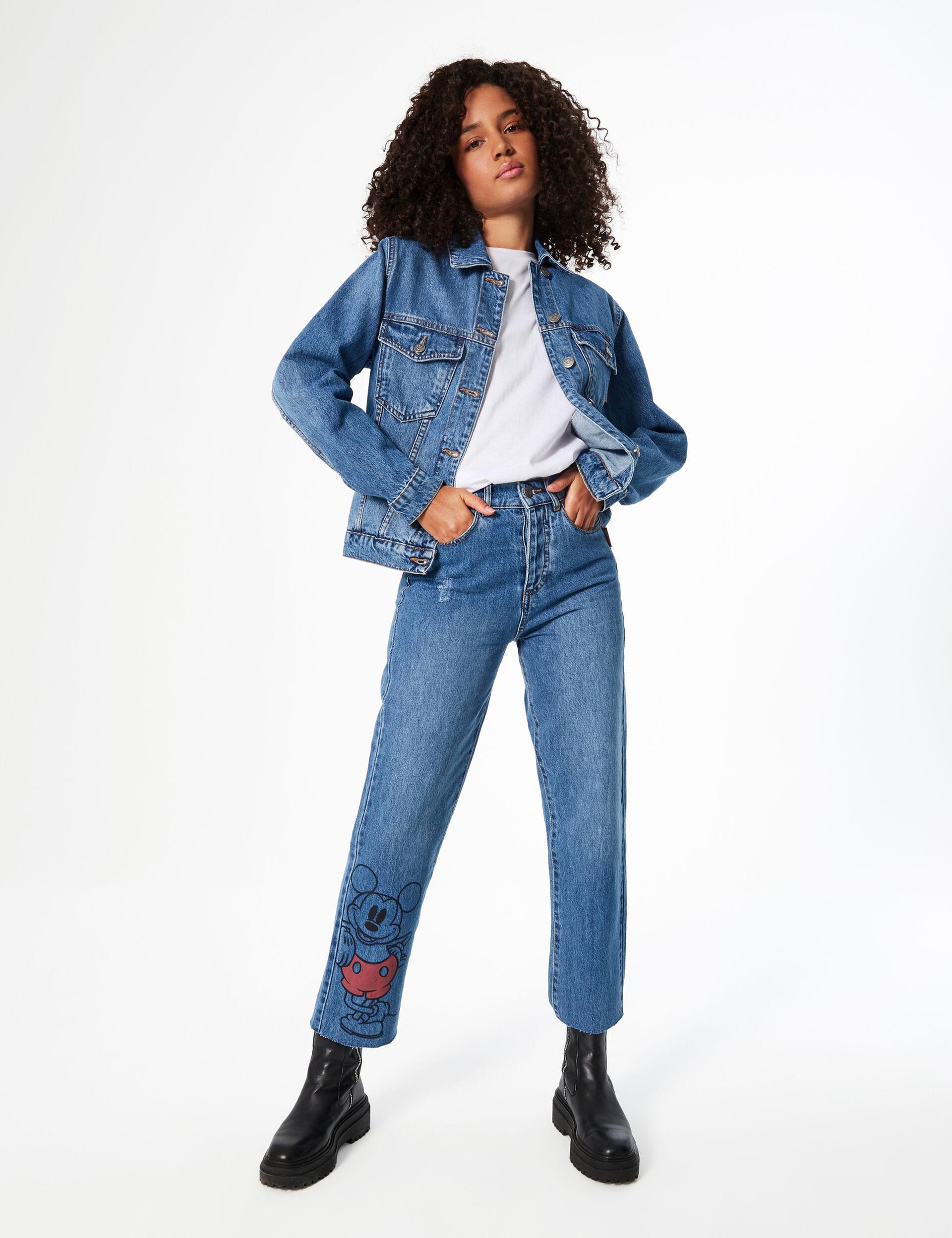Disney Mickey mom jeans