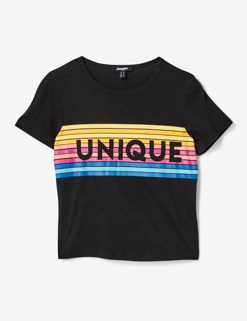 tee-shirt unique noir
