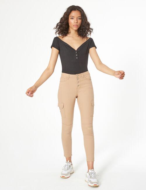 Pantalon esprit cargo