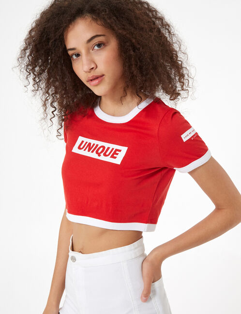 crop top unique