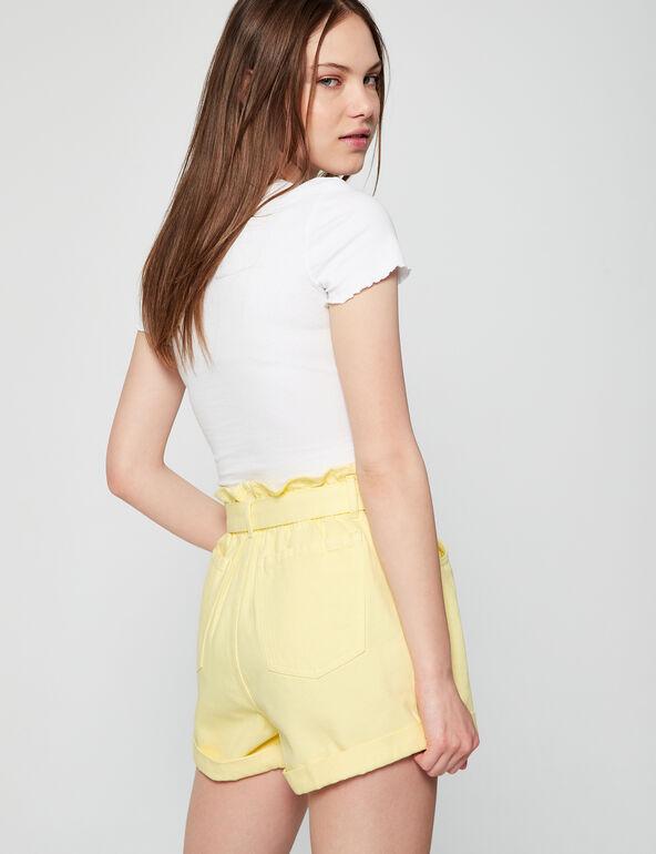 Short taille hautepaperbag