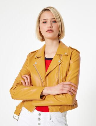 nouveau style 74a98 e8108 les veste en cuir jennyfer