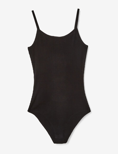 body zippé noir