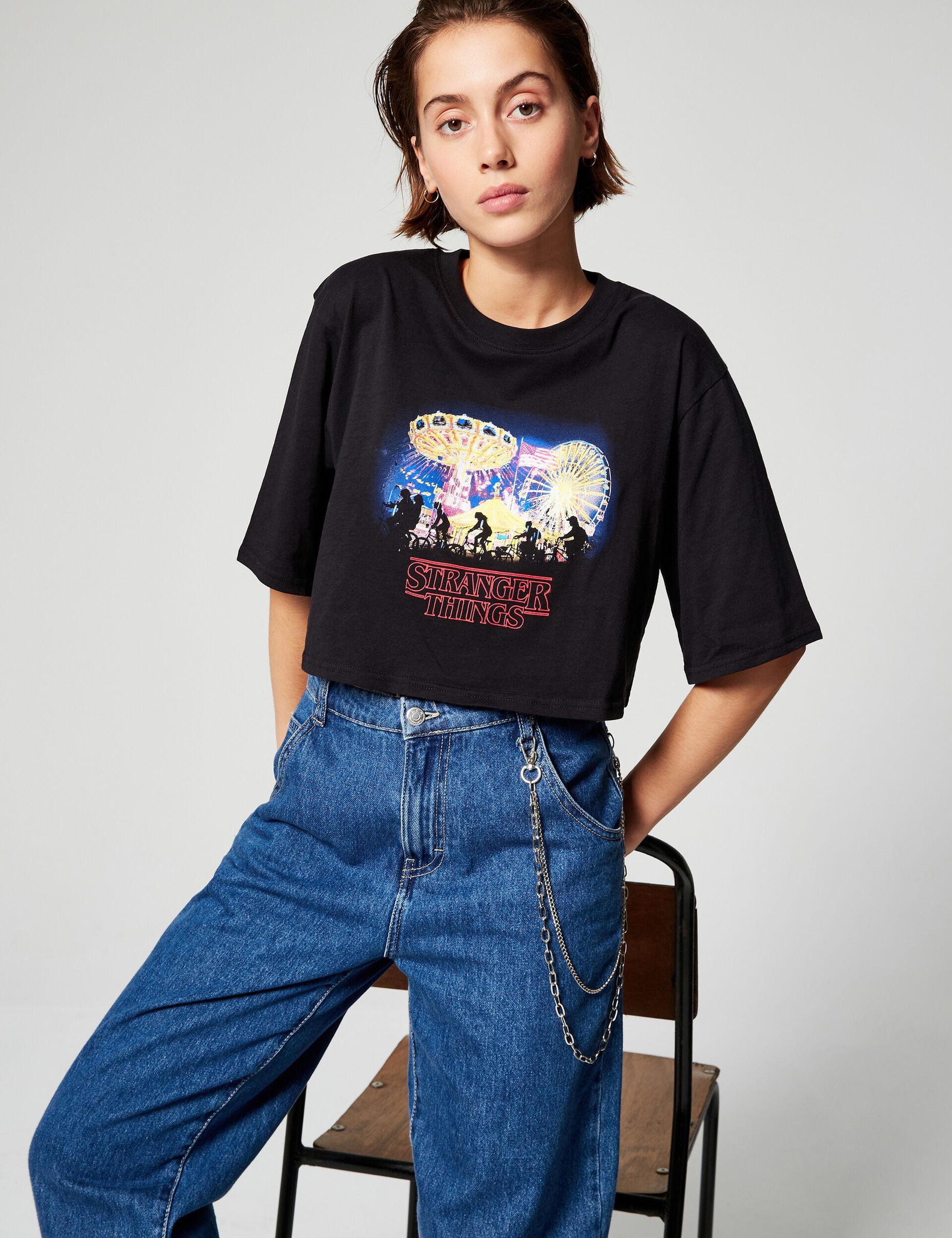 Tee-shirt court Stranger Things