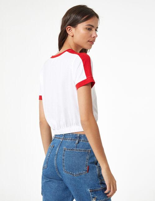 tee-shirt élastiqué unique