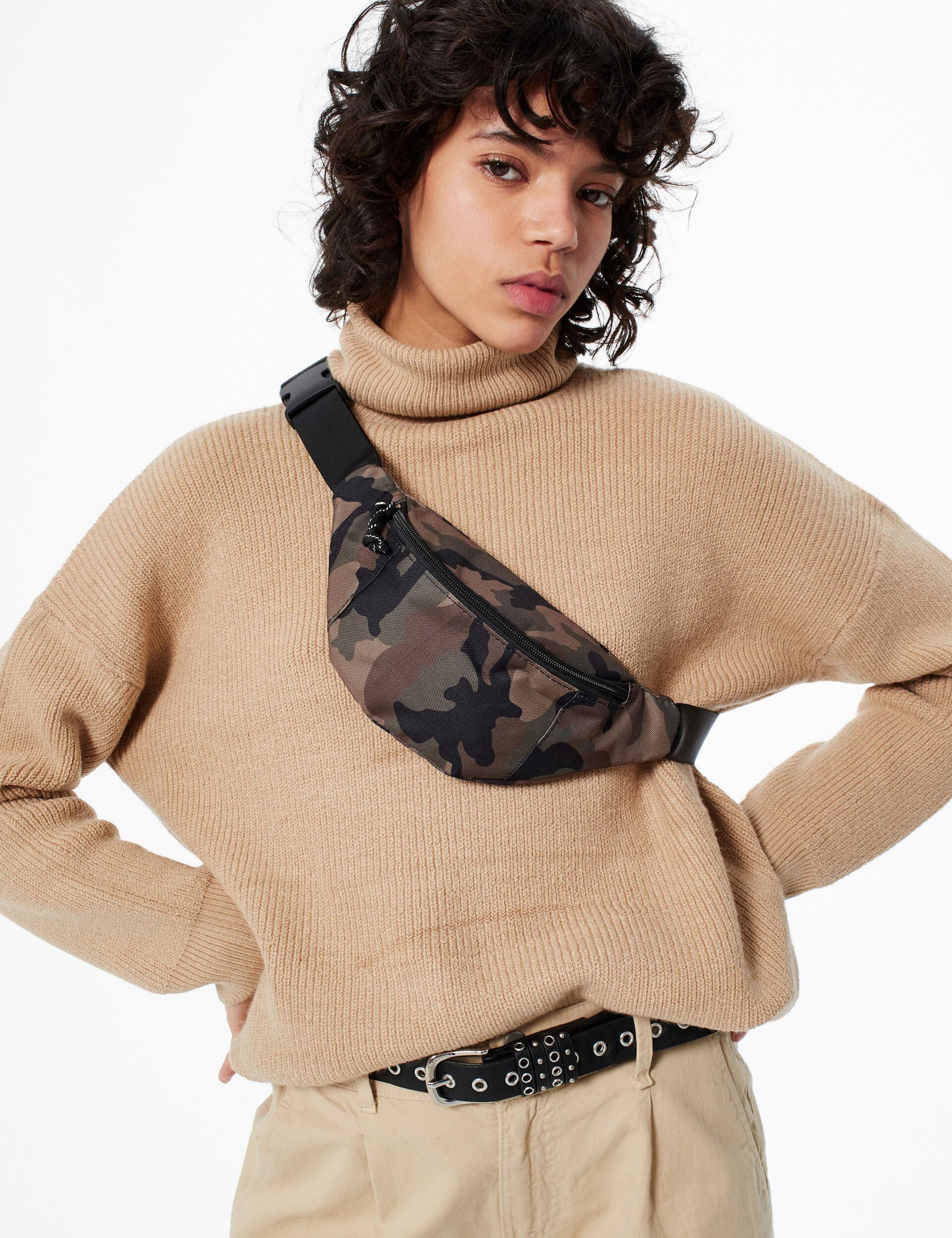 Camouflage bumbag