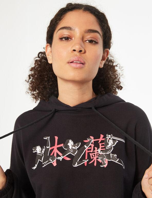 Disney Mulan cropped sweatshirt
