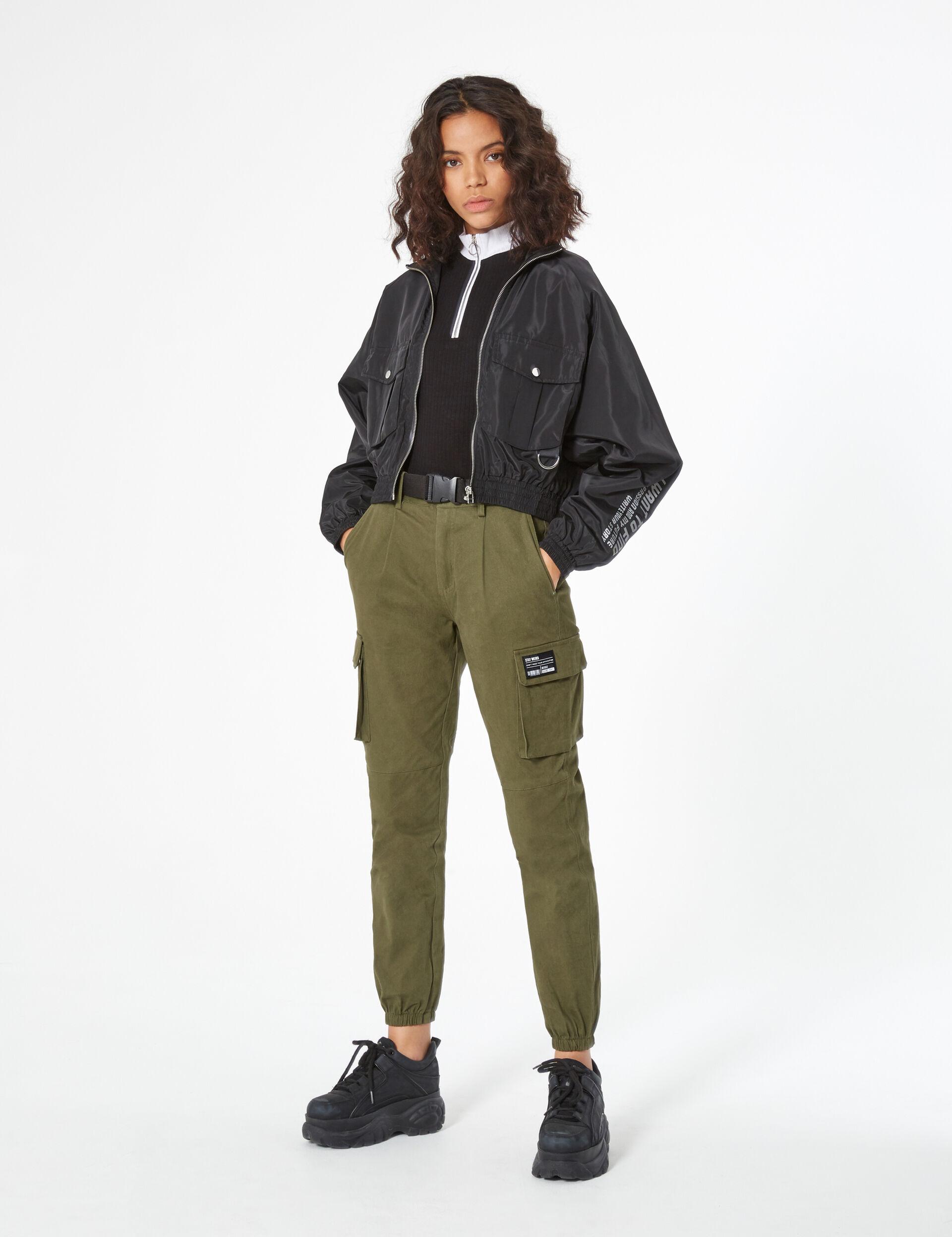 Light cargo style jacket