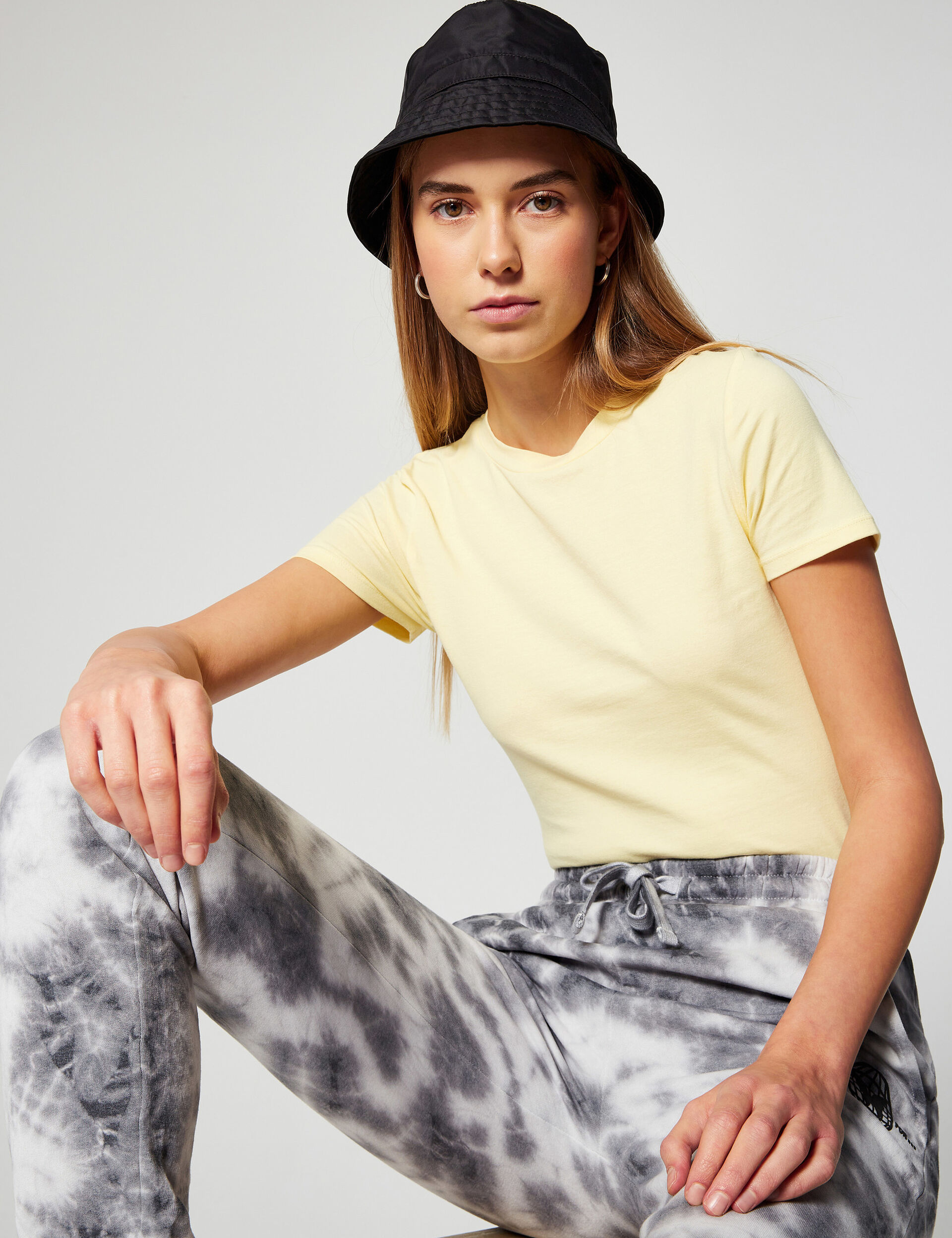 Fitted basic T-shirt