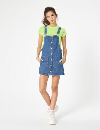 3186e50e121 les robe salopette en jean jennyfer