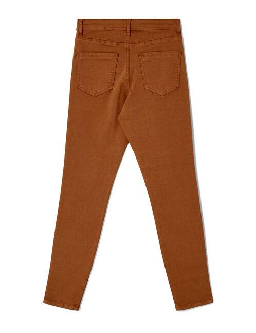Camel skinny jeans
