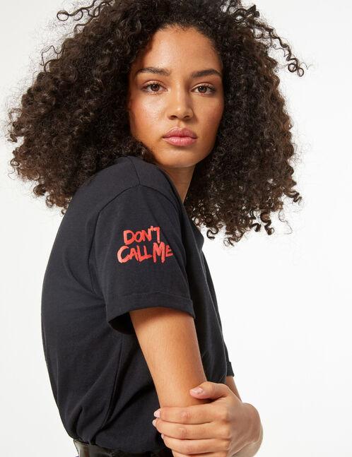 tee-shirt don't call me fake