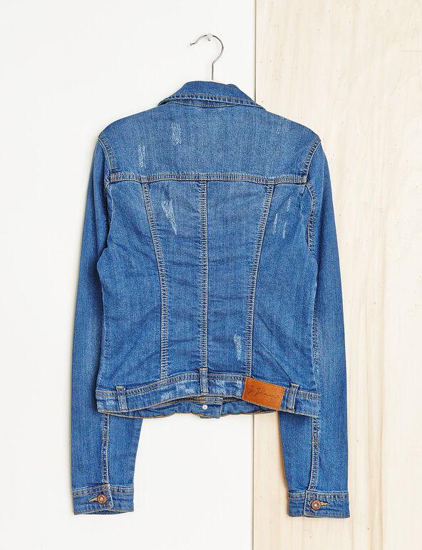 Veste en jean medium blue