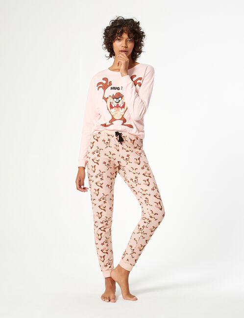 Looney tunes taz pyjama set