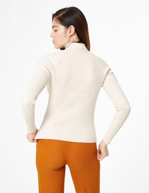 ribbed knit jumper