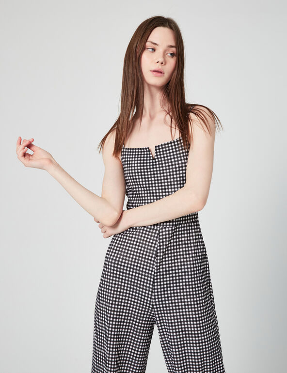 Gingham playsuit