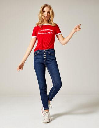 Soldes Jeans Femme Jusqu à -60% ! • Jennyfer fe17f00c3295