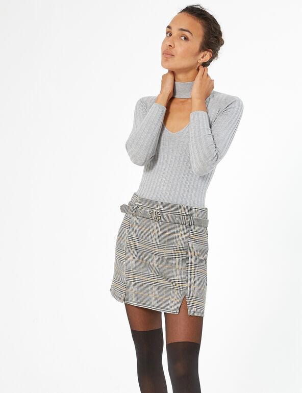 Mini jupe prince de galles