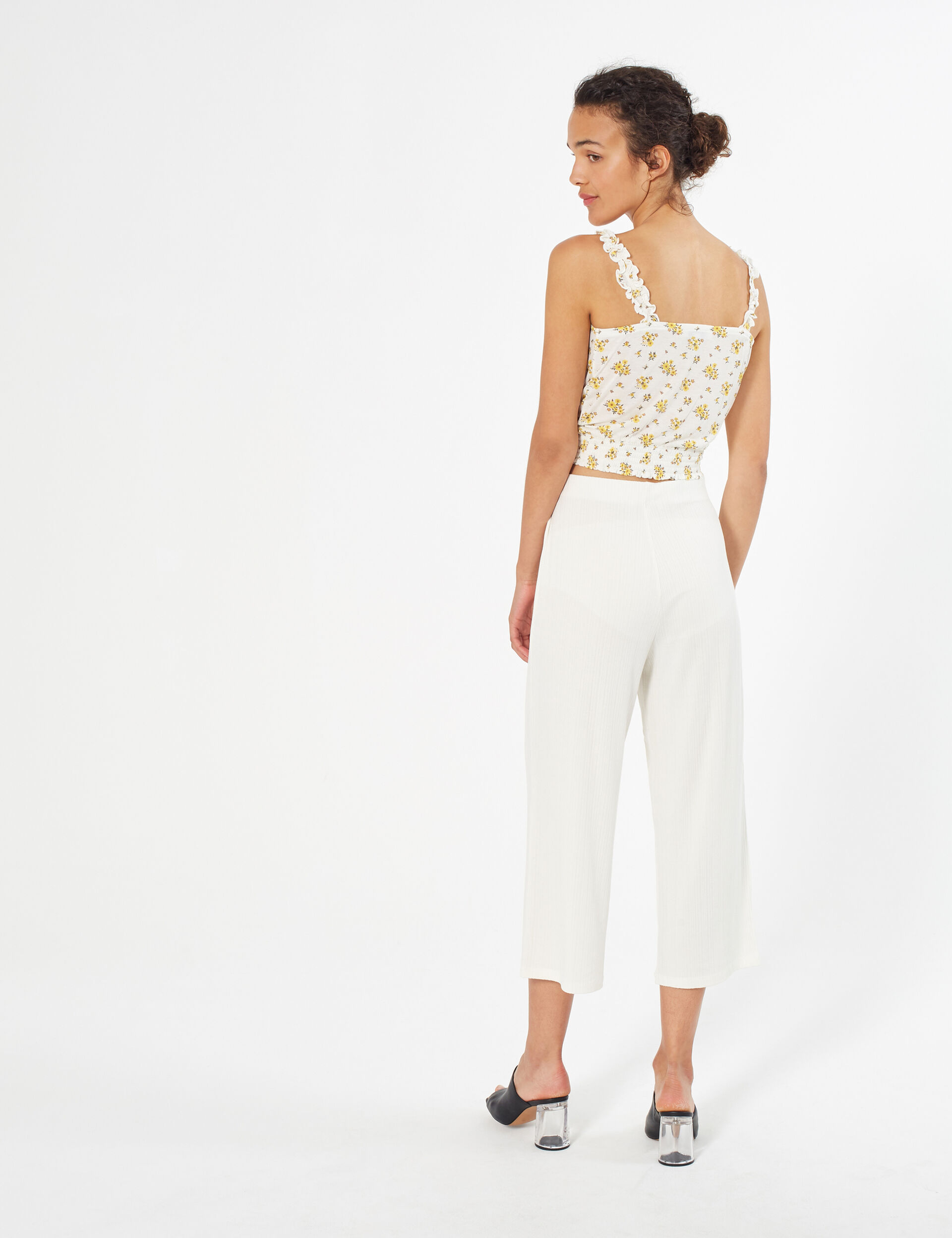Culottes with belt