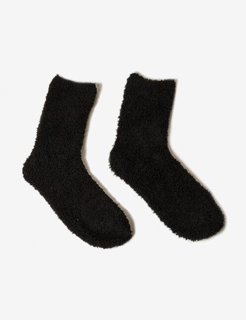 Black mid-length socks