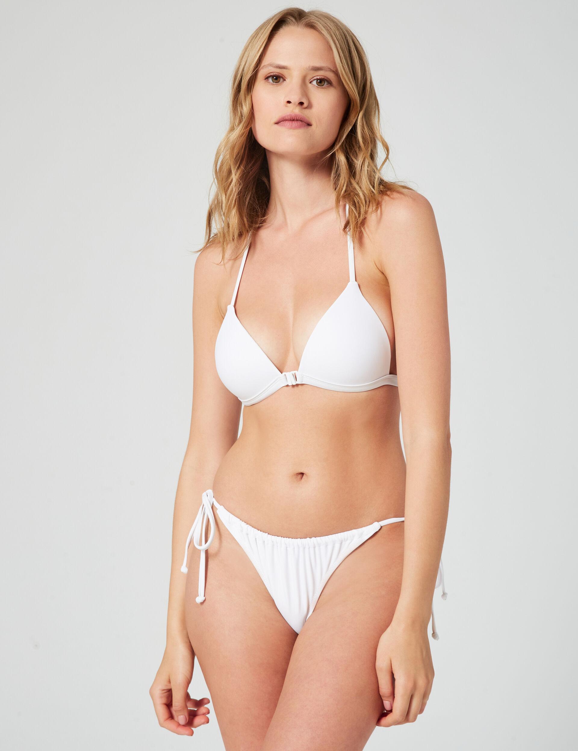 Triangle bikini top