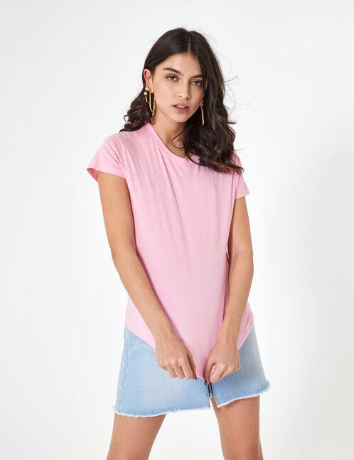 Basic pink T-shirt