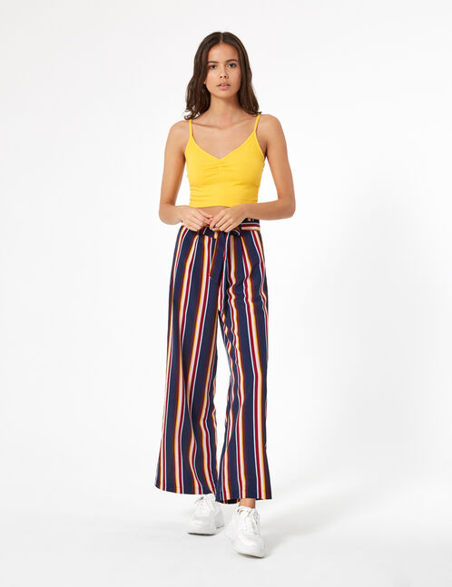 Ochre crop top