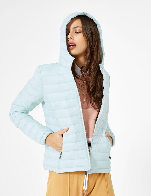 Light blue lightweight padded jacket