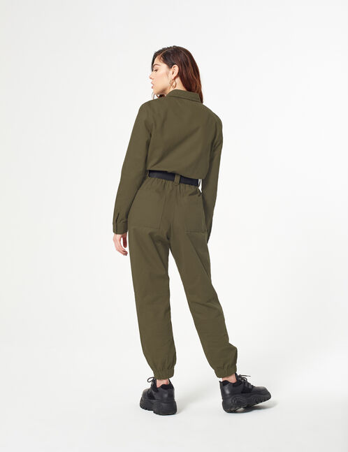 Military style jumpsuit