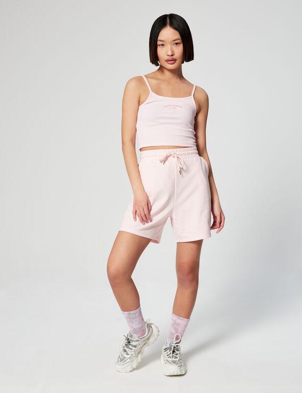 Basic wide leg shorts