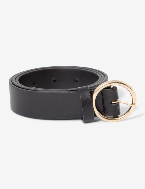 Skinny basic belt