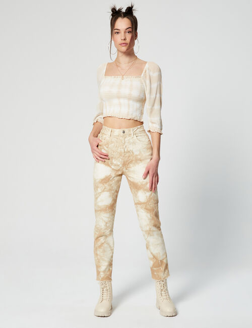 Pantalon tie and dye