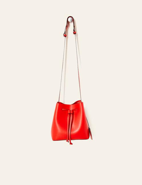 sac seau rouge