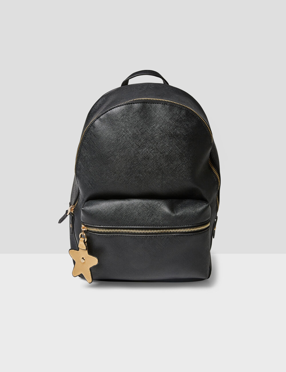 Black backpack with star detail woman • Jennyfer 0cb2fd292fe
