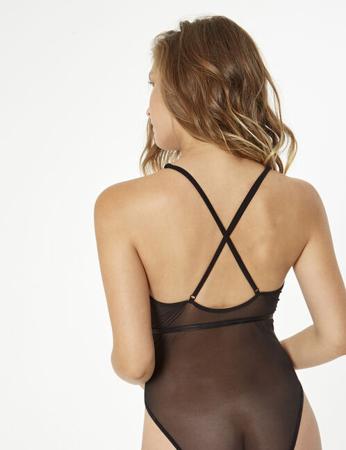 Bodysuit with strap detail