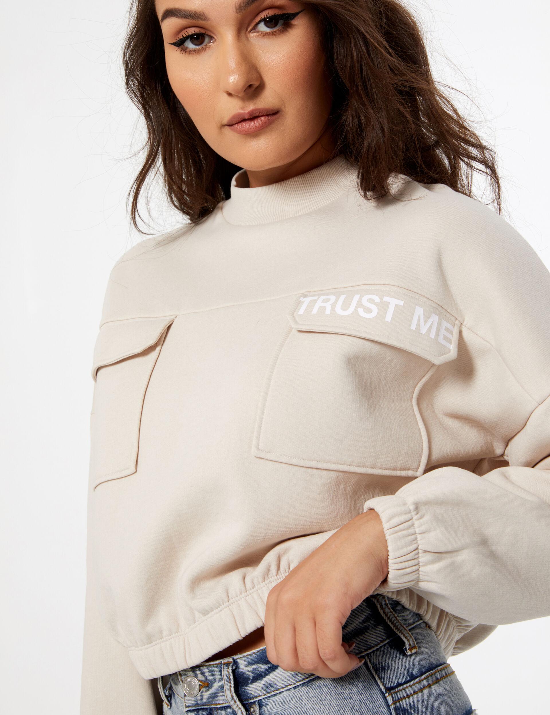 The x doll beauty sweatshirt