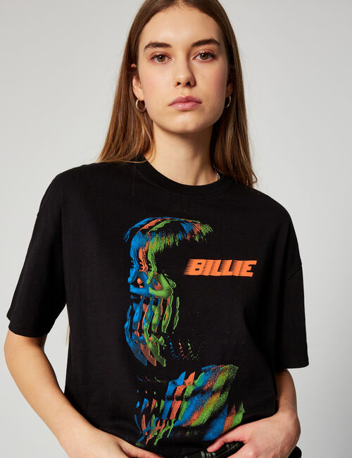 Bill. E Green glow T-shirt