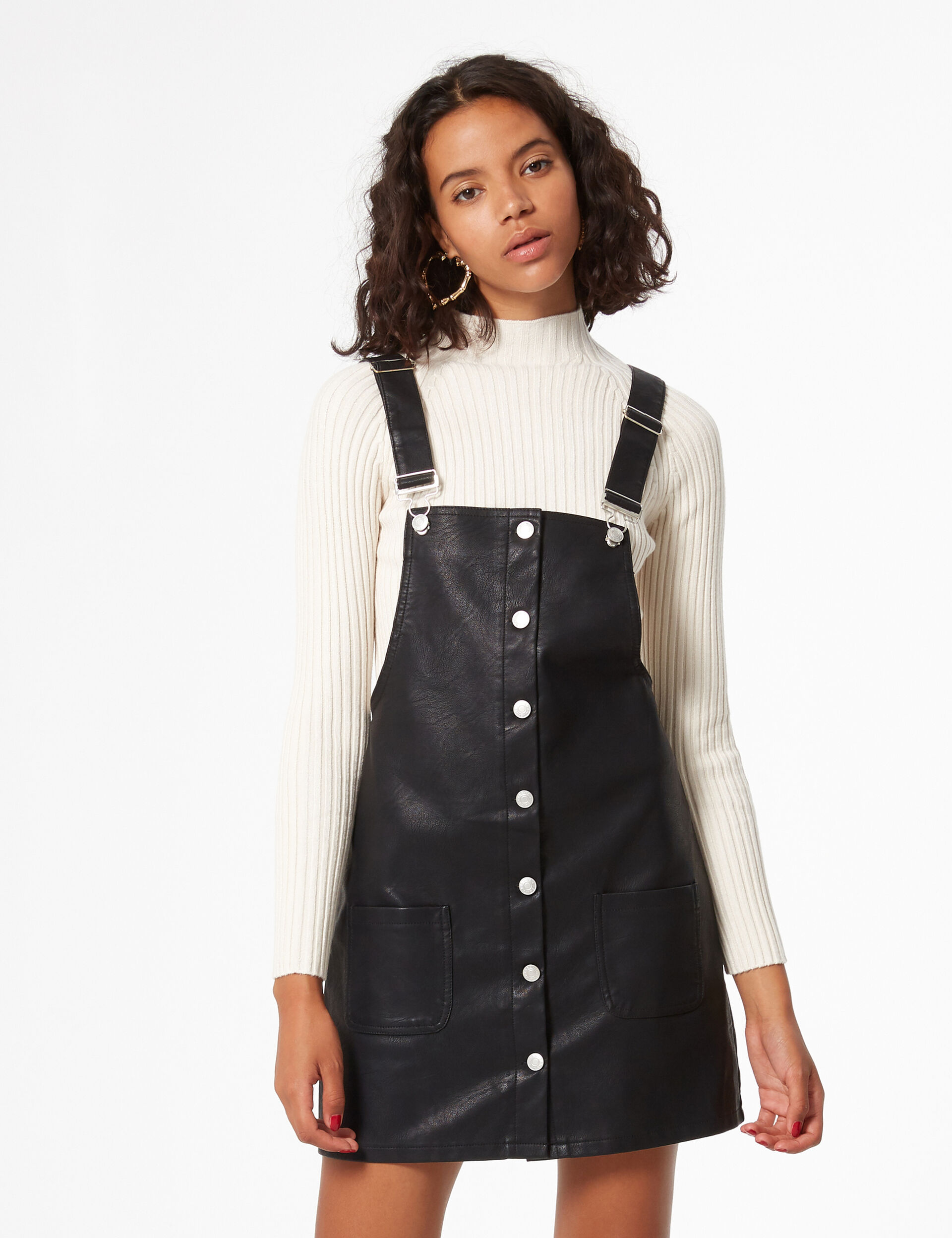 Synthetic tunic dress