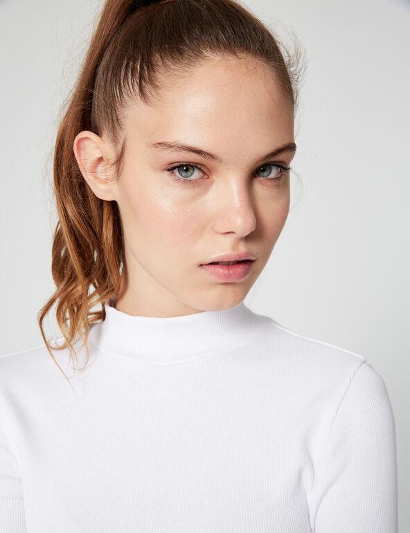 Tee-shirt côtelé