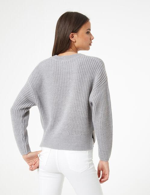 ribbed jumper