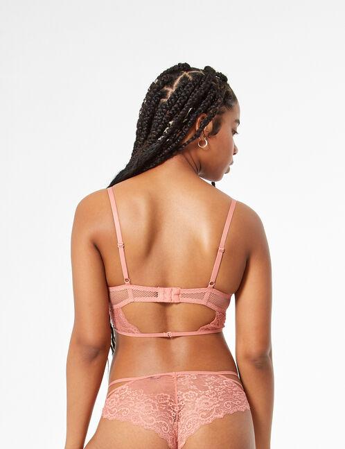 Bra with straps