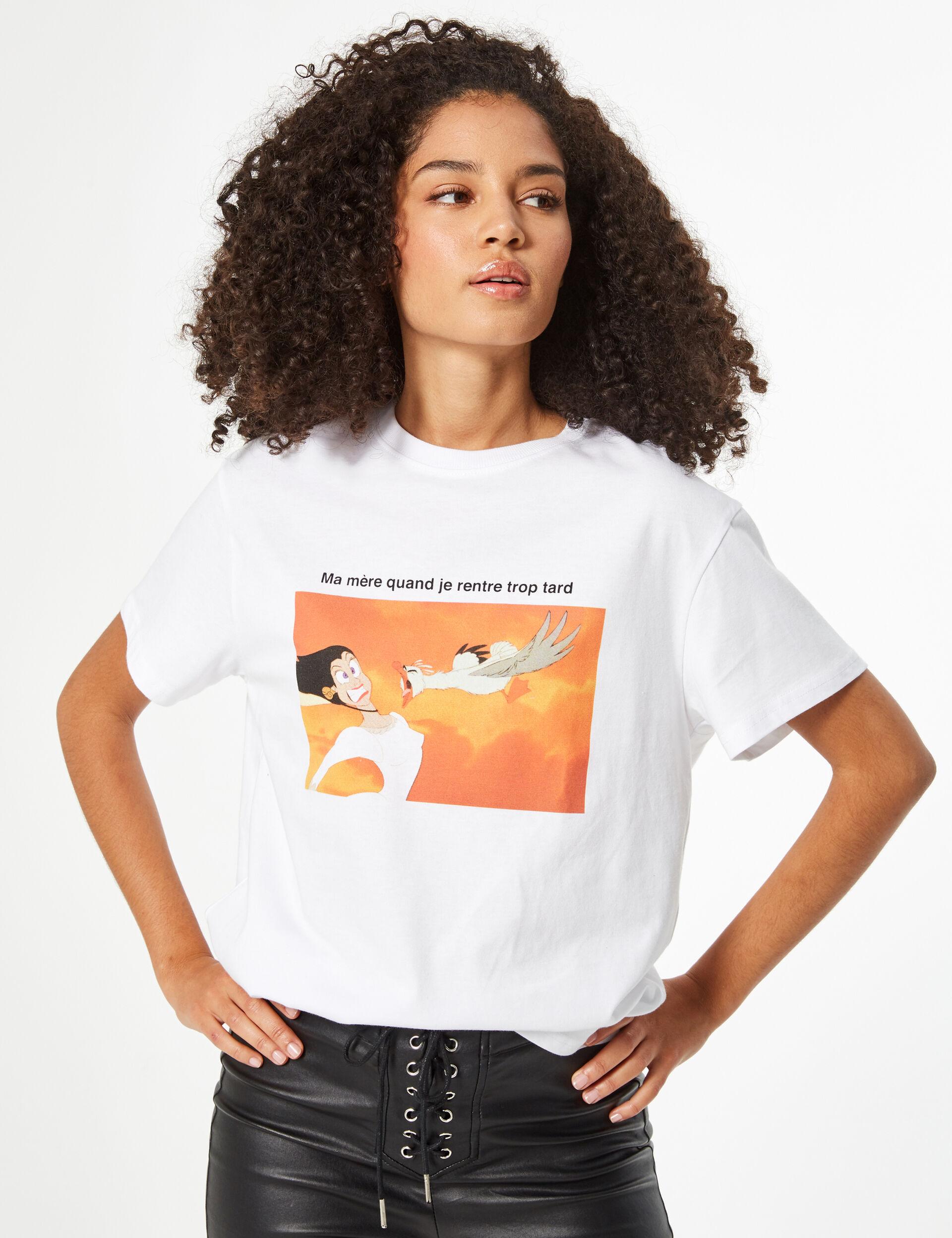 Tee-shirt Disney la petite sirène