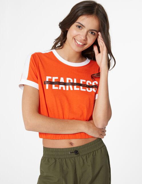 tee-shirt élastiqué fearless