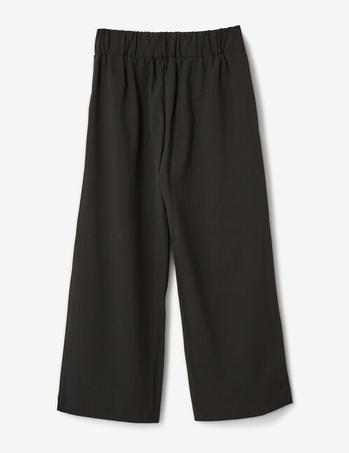 pantalon large noir femme jennyfer. Black Bedroom Furniture Sets. Home Design Ideas