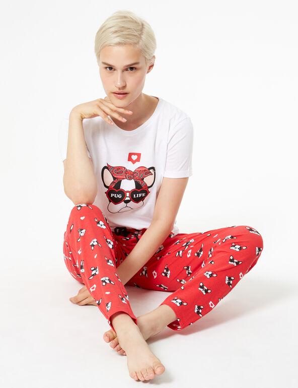 Set pyjama bouledogue