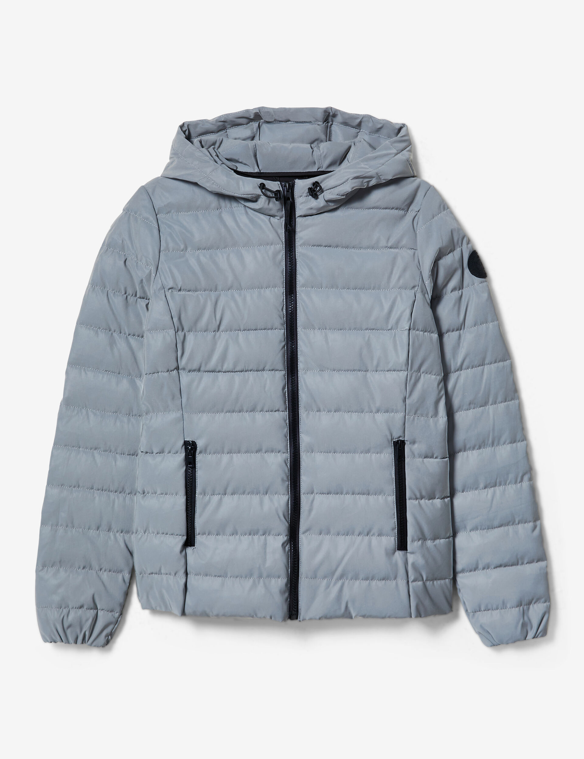 Reflective padded jacket