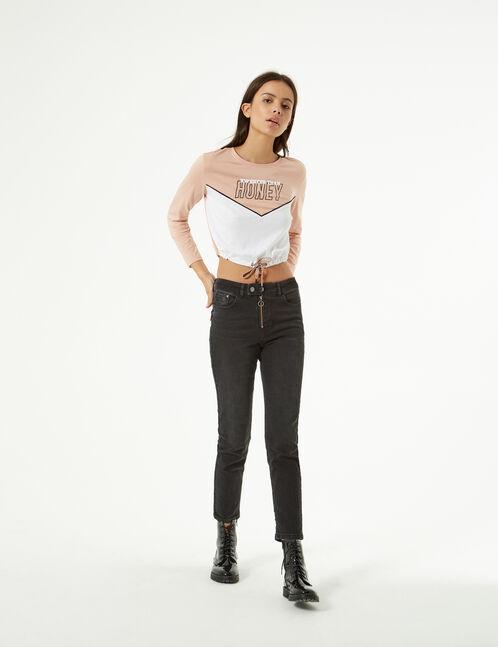 miami T-shirt with drawstring