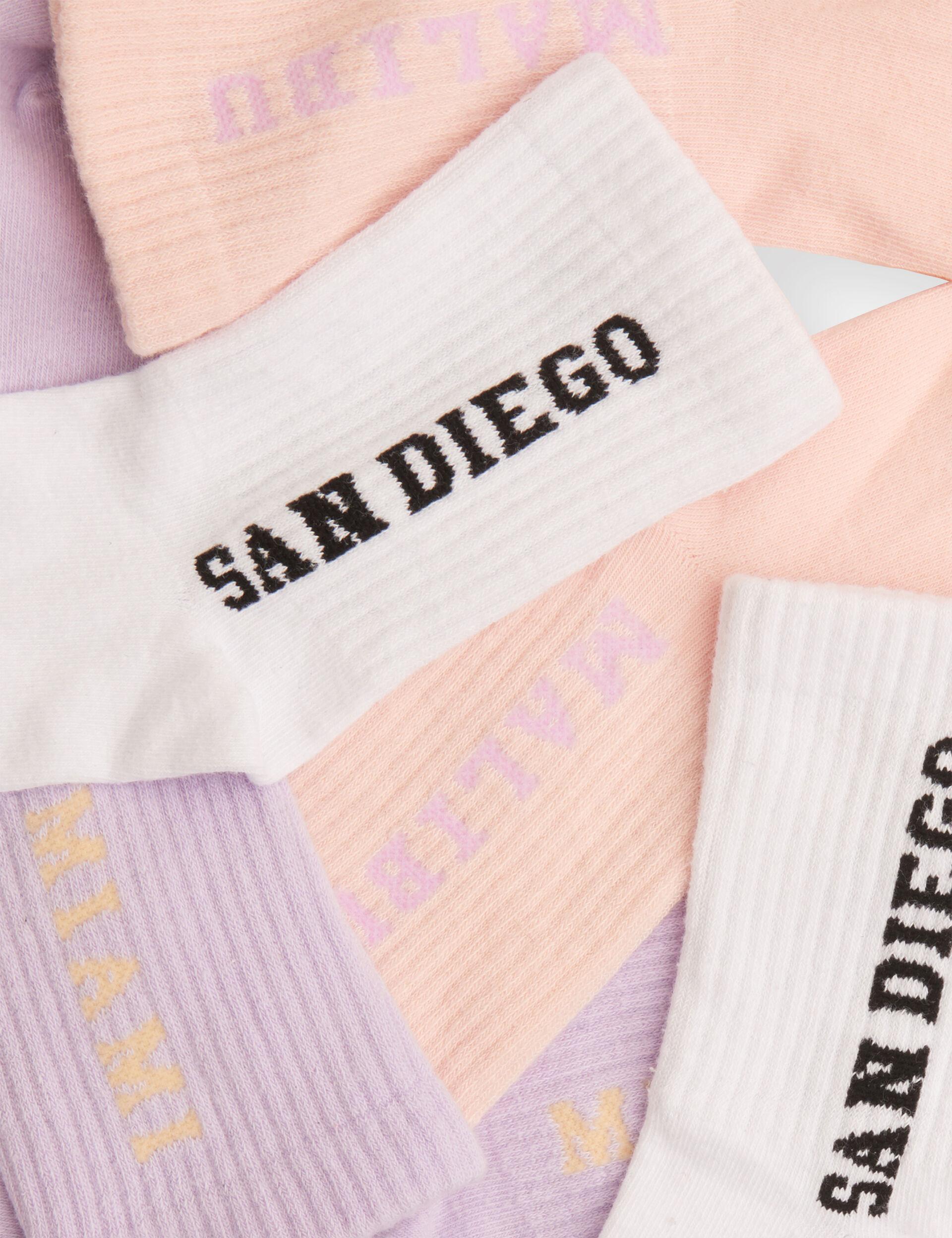 Chaussettes hautes à message