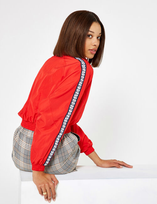 Lightweight red jacket